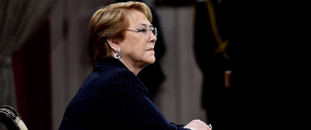 """Bachelet  por incendios forestales: """"En su gran mayoría, son producidos por las personas intencionalmente"""""""