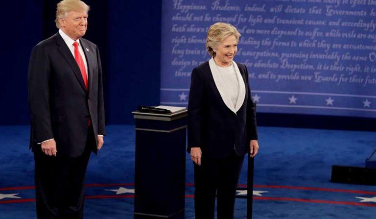 Segundo debate Trump-Clinton: No responden lo que les preguntan y Rusia toma inusitado protagonismo