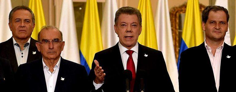 El Premio Nobel de la Paz 2016 es para… José Manuel Santos, Presidente de Colombia