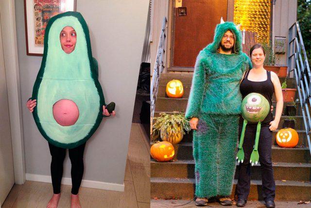 Los Disfraces De Halloween Mas Creativos Para Mujeres Embarazadas - Disfraces-de-halloween-para-embarazadas