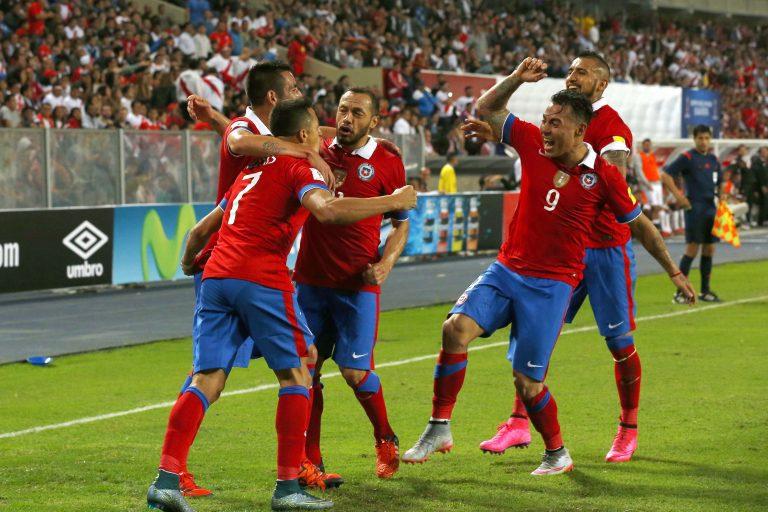 Nómina final de La Roja para enfrentar a Colombia y Uruguay