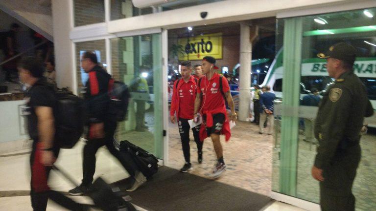 La Roja ya llegó a Barranquilla para enfrentar a Colombia este jueves