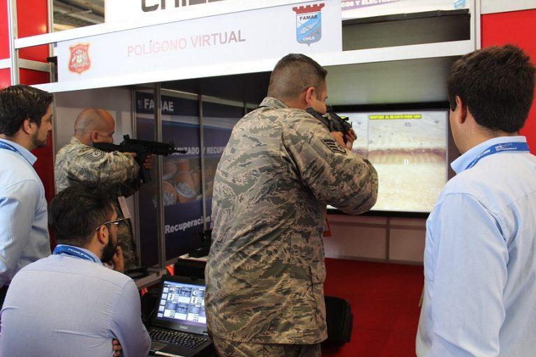 FAMAE desarrolla un polígono de tiro virtual hecho completamente en Chile