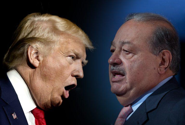 La frase méxicana con la que Slim advierte a Trump