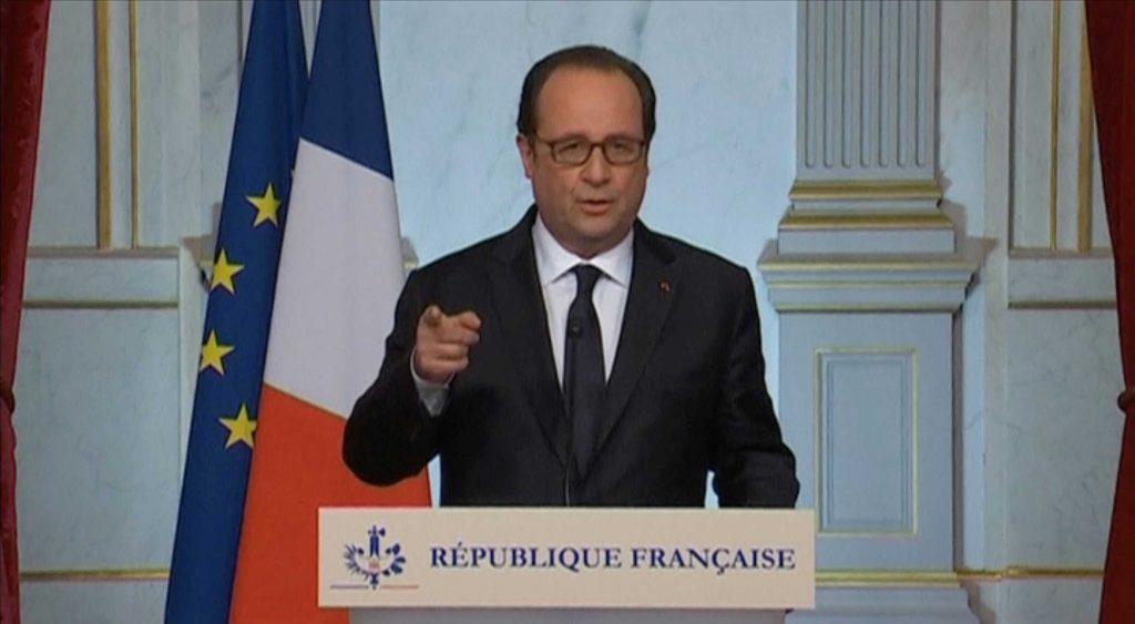 """Hollande refleja preocupación mundial: """"El triunfo de Trump abre un período de incertidumbre"""""""