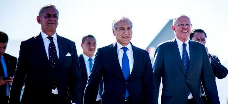 """Presidente de Perú inicia primera visita oficial a Chile y Canciller Muñoz asegura: """"Esta es una señal política importante"""""""