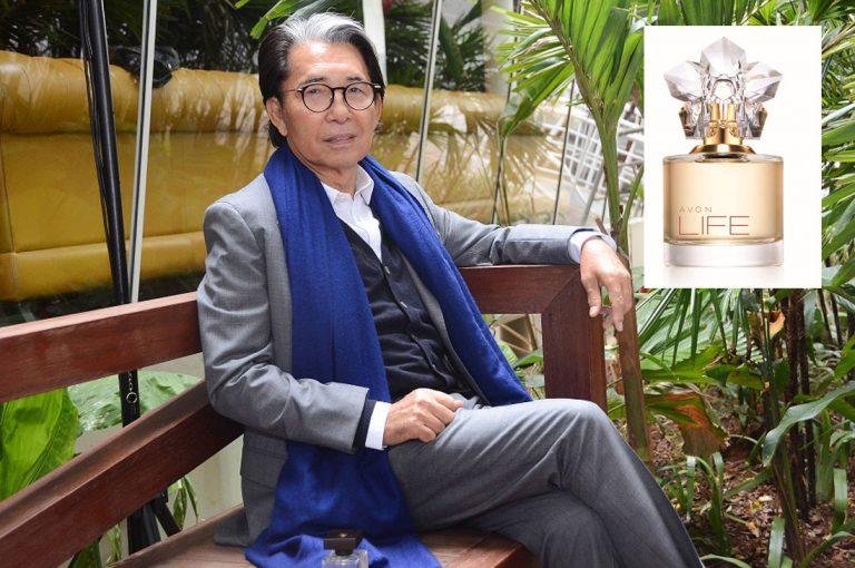 Avon lanza nueva fragancia co-creada con Kenzo Takada