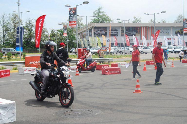 Clases gratuitas de Honda para aprender a andar en moto se tomarán Valparaíso