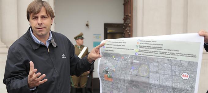 """Alcalde Codina explica la expropiación de terrenos de la CMPC: """"La empresa ha quebrado las confianzas"""""""