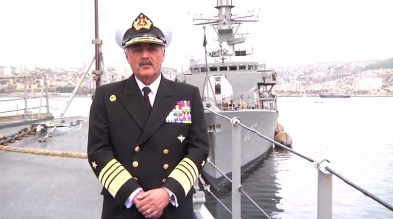 """Comandante en jefe de la Armada y caso marinos voyeristas: """"Es un hecho que repudiamos y es aislado"""""""