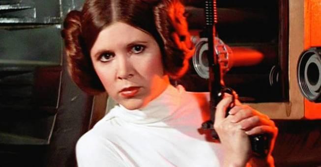 """La """"fuerza"""" está de luto: A los 60 años muere la Princesa Leia"""