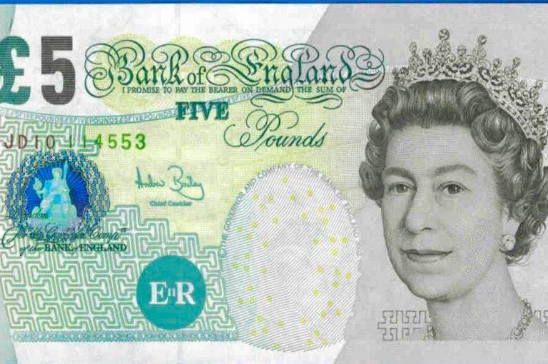 Billete de 5 libras tiene en pie de guerra a animalistas ingleses