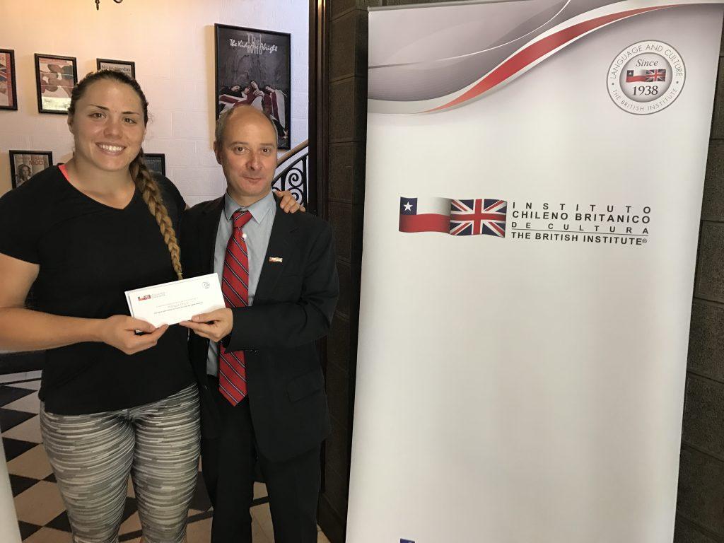 La deportista de elite Natalia Duco aprenderá inglés antes de partir al mundial de atletismo en Londres