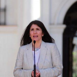 Paula Narváez, ministra Vocera de Gobierno