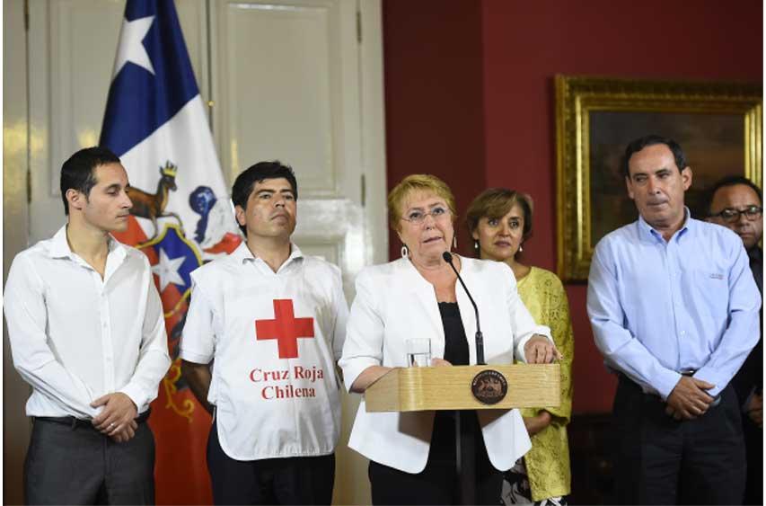 """Presidenta: """"Instruí con especial énfasis que se acelere la entrega de beneficios y ayuda a las localidades y a las familias afectadas"""""""