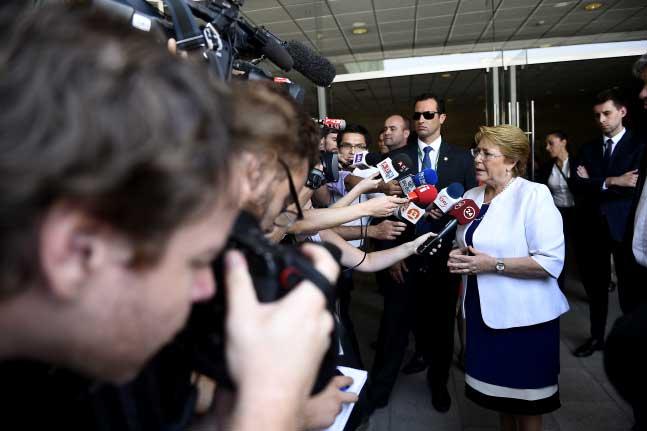 Presidenta cancela viaje a cumbre Celac y a Haití
