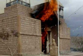 Mamiña: Incendio destruye iglesia de 1632