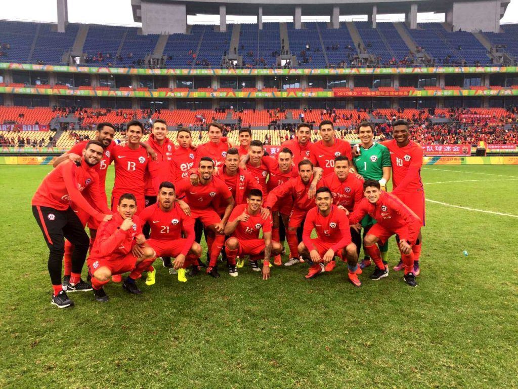 """Chile campeón de la """"China Cup"""""""