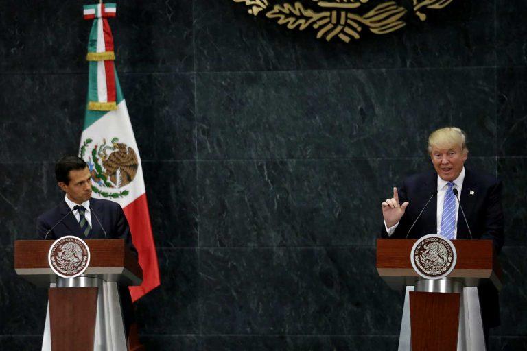 """Tensión con Presidente Trump: """"México no pagará el muro"""" asegura Peña Nieto"""
