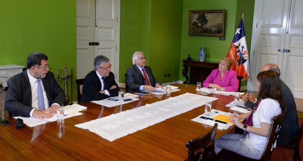 Presidenta encabezó primer comité político del año marcado por incendio de Valparaíso