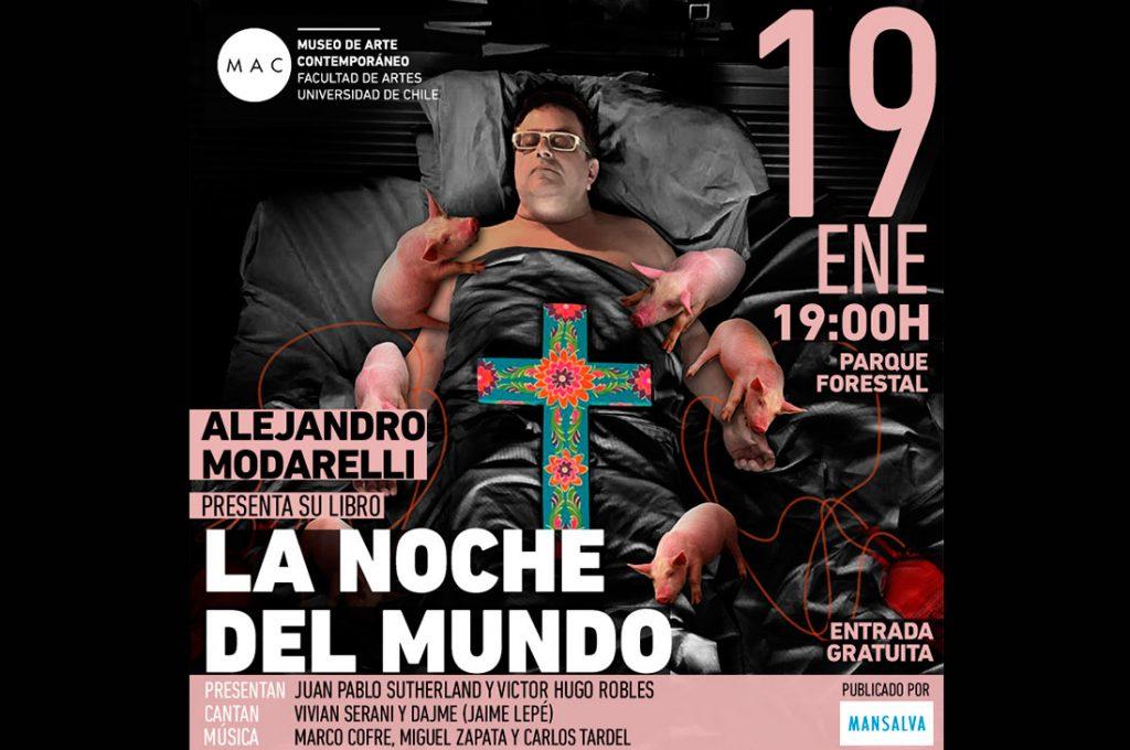 """Lanzamiento: """"La Noche del Mundo"""", el libro que Alejandro Modarelli dedica a Pedro Lemebel"""