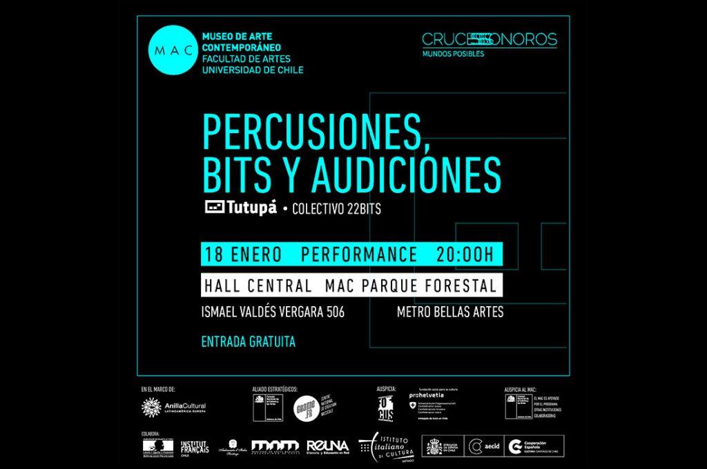 Sonido específico: Percusiones, bits y audiciones