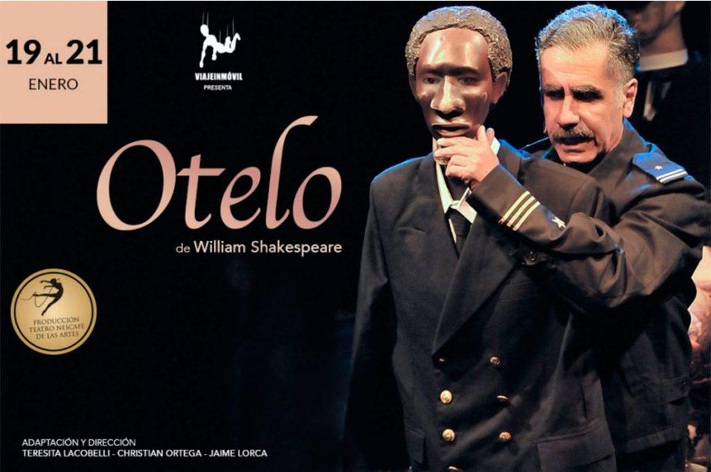 """ÚLTIMAS FUNCIONES de """"Otelo"""", la premiada versión de Jaime Lorca sobre el clásico de Shakespeare"""