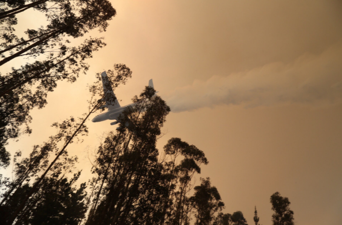 Conoce las aeronaves que están combatiendo los incendios forestales