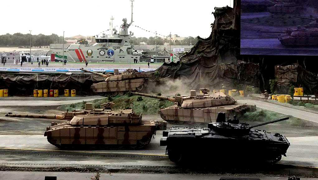 IDEX 2017 la feria de Defensa que se realiza a pocos kilómetros de los conflictos en Oriente Próximo