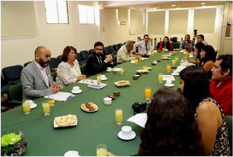 Censo 2017: Autoridades de la Región de O´Higgins informan a la prensa local de los avances del Censo