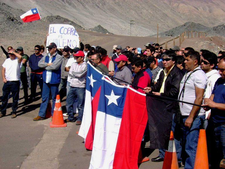 Jueves comienza huelga en Minera Escondida