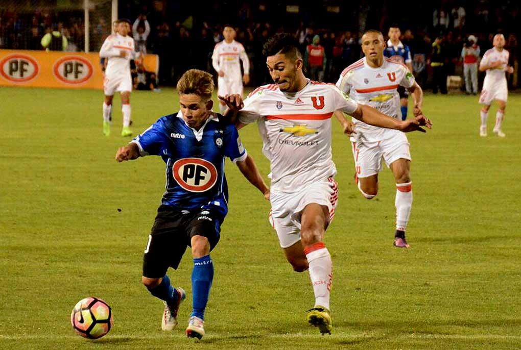 Sigue sin triunfos la U: ahora cae por 2 a 1 ante Huachipato