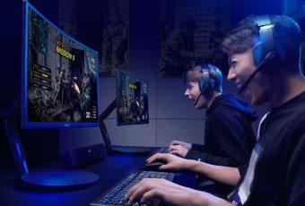 Samsung presenta el primer monitor curvo especial para gamers