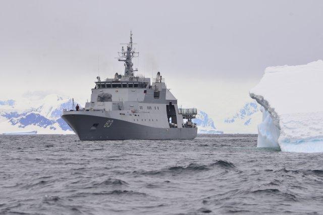 Armada apoyó a Sernapesca en detección de nociva alga en Golfo de Penas