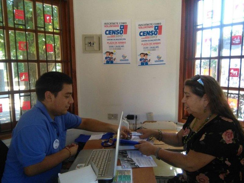 Aumenta el interés por participar del Censo 2017 en Los Ángeles