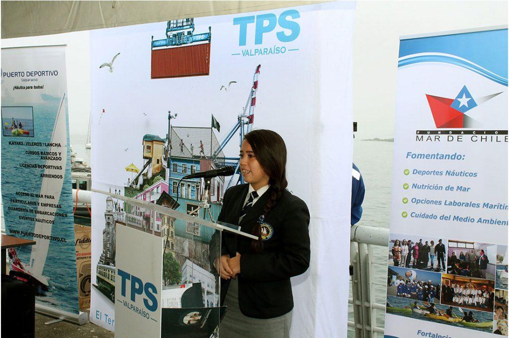 Más de 500 estudiantes participan en Talleres Náuticos Deportivos 2017 de TPS y Fundación Mar de Chile