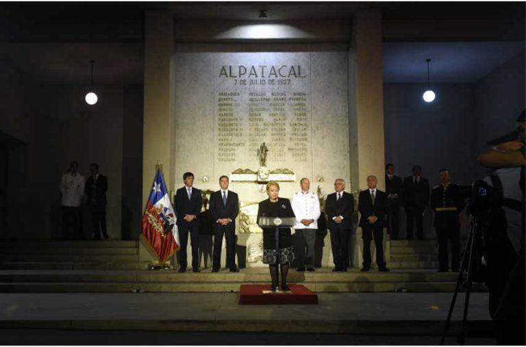 Presidenta encabeza conmemoración del Bicentenario de la Escuela Militar