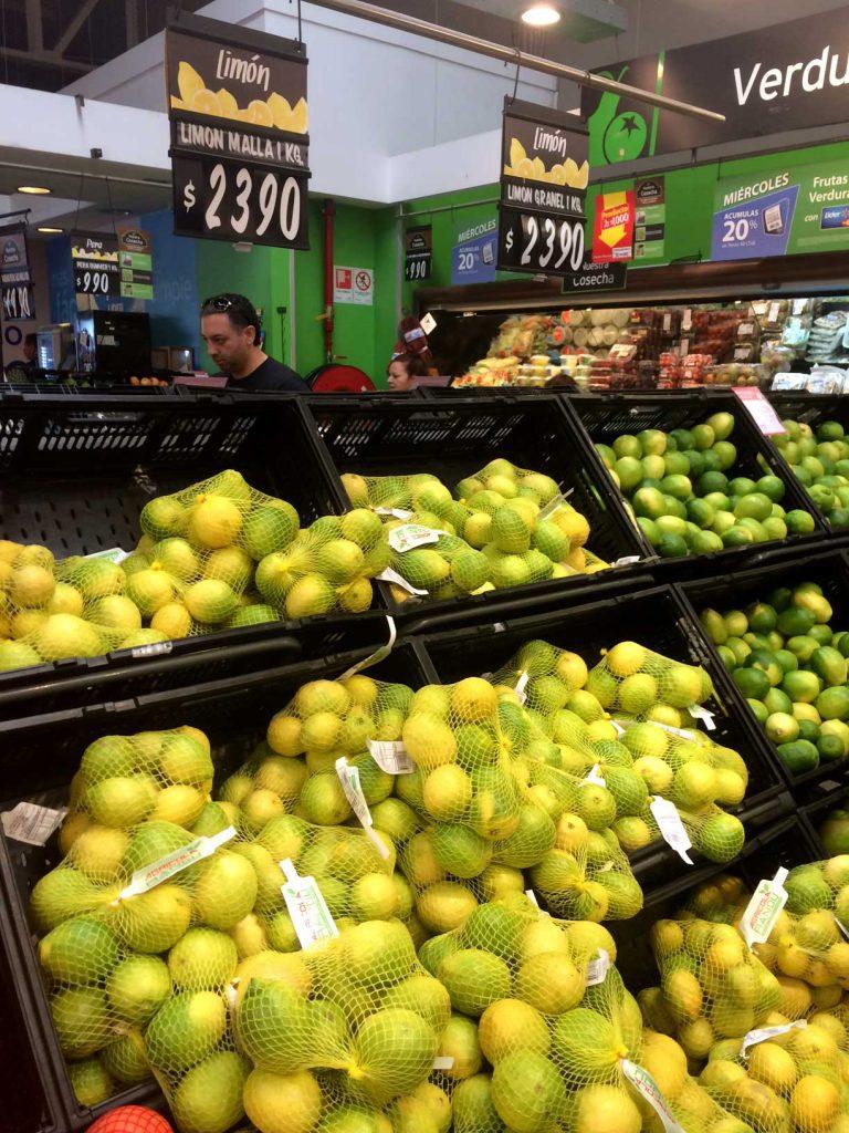 INE: IPC de febrero marcado por alto precio de limones