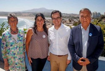 Censo 2017: Ministro de Economía visitó Concón para incentivar participación ciudadana