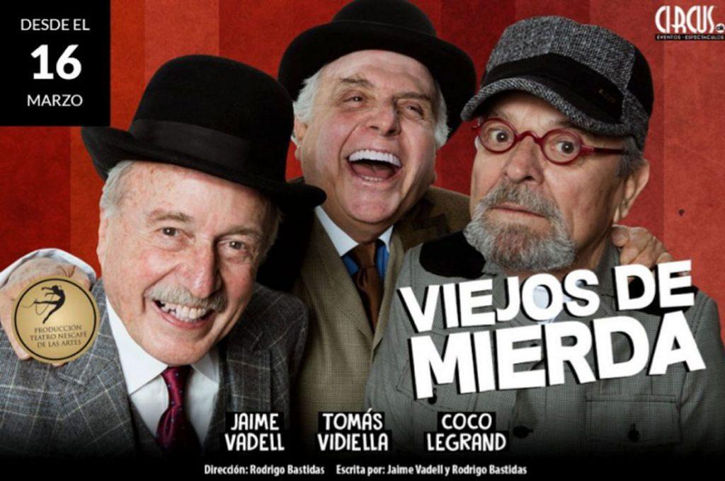 """Teatro NESCAFÉ de las Artes Presenta: """"Viejos de Mierda"""""""