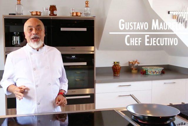 El chef gustavo maurelli nos ense a c mo tratar con los for Elementos de cocina para chef
