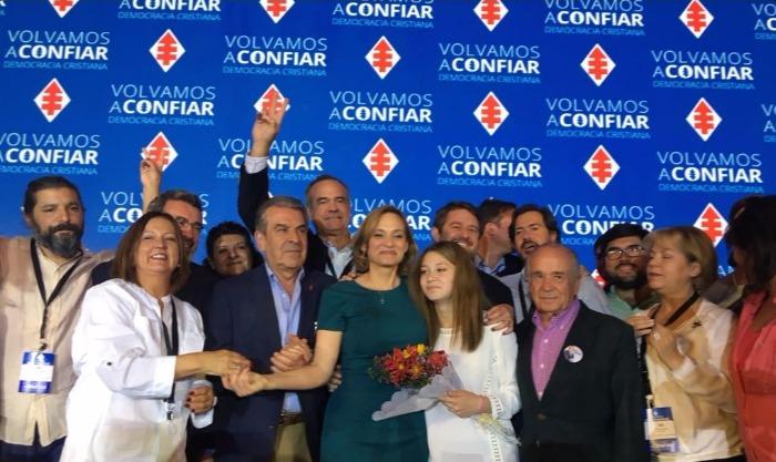 Junta DC: Goic es aclamada como candidata presidencial y se espera la definición de ir a primera vuelta o a primarias