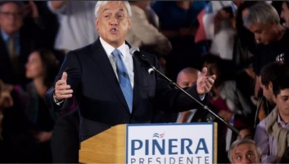 """Piñera acepta candidatura y dice que de llegar a ser Presidente """"cumpliré con la ley, no participaré en la administración y gestión de ninguna empresa"""""""