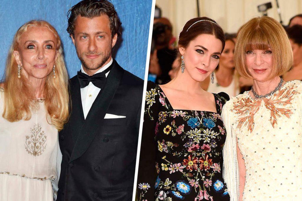 Los hijos de dos de las mujeres más influyentes de la moda internacional se han comprometido