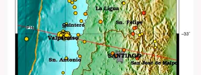 """Centro Sismológico Nacional analiza la """"secuencia sísmica en la zona central"""""""