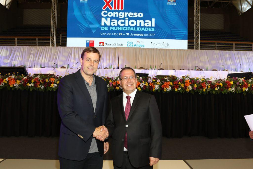 Asociación Chilena de Municipalidades eligió nueva directiva