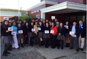 Valdivia: Estudiantes del Colegio Austral se capacitaron para el Censo