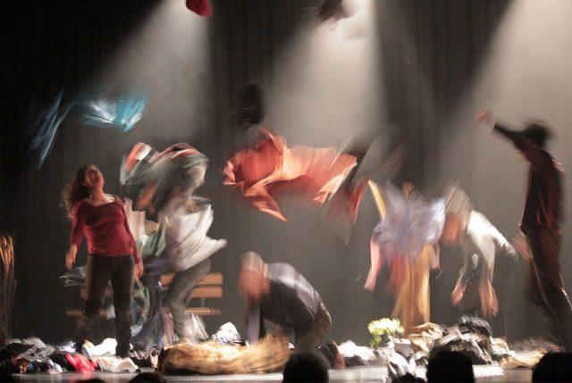 Migración y fronteras en danza