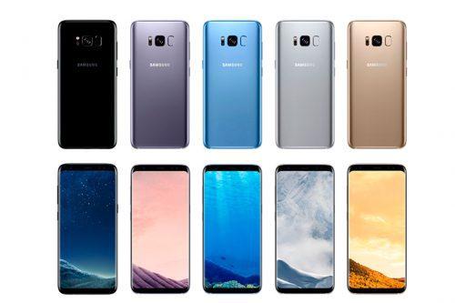 Preventa en Chiledel Galaxy S8 y S8+