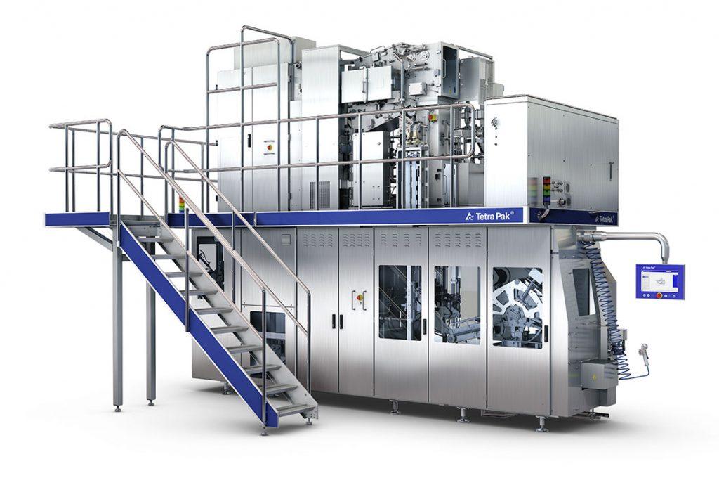 Nuevas máquinas llenadoras de Tetra Pak con tecnología eBEAM